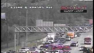 I-635, Kansas Avenue wreck