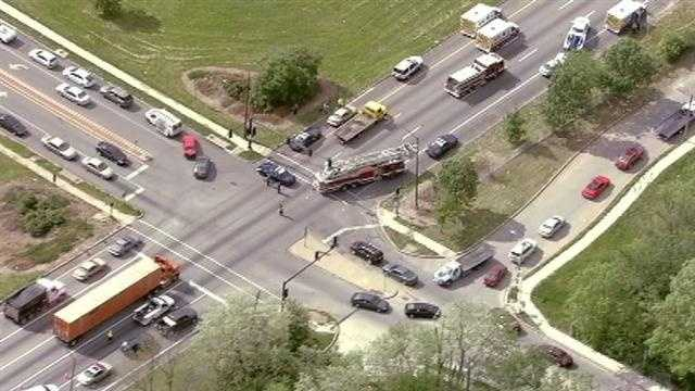 71 Highway North closed at 59th Street for accident