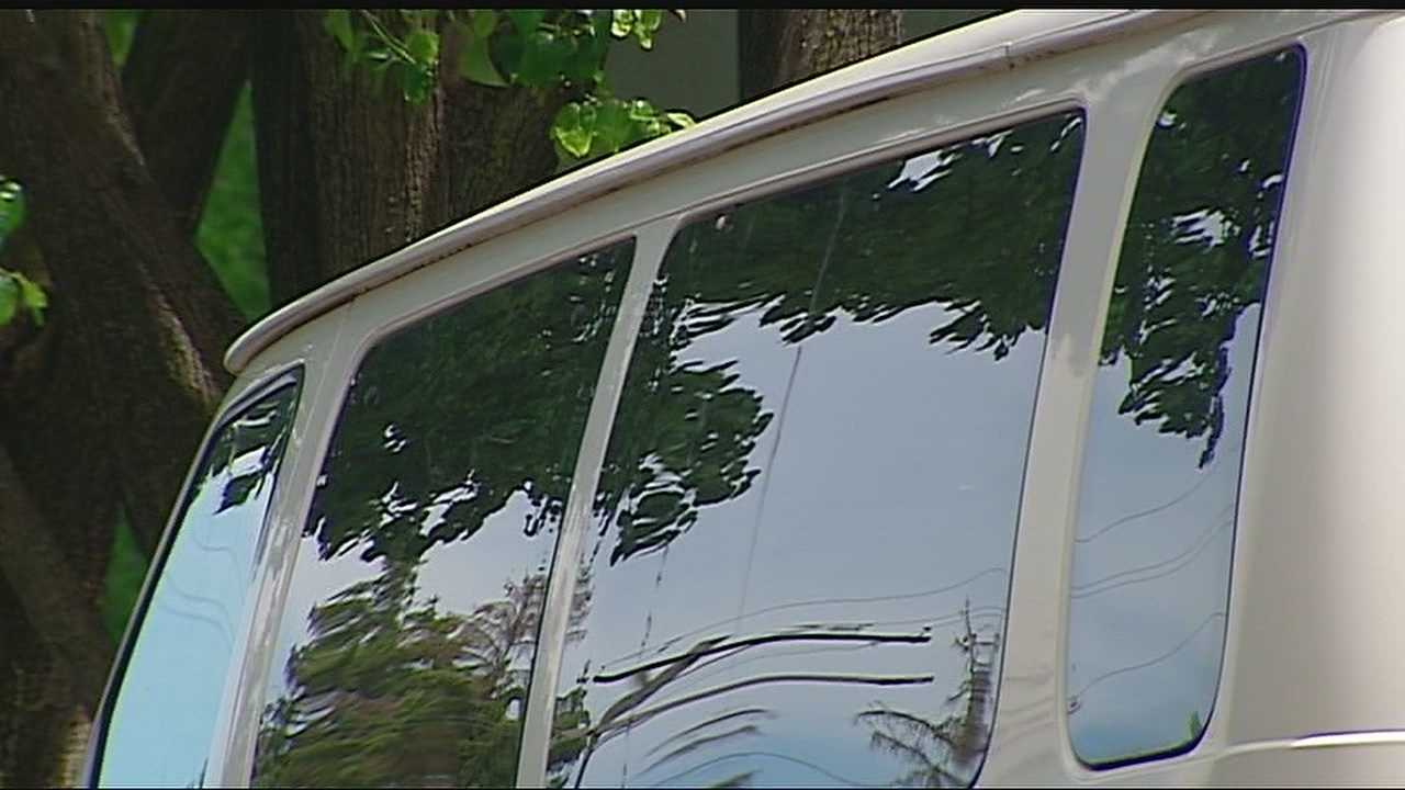 Investigators are looking into why a 4-year-old boy was left in a day care van for five hours last week.