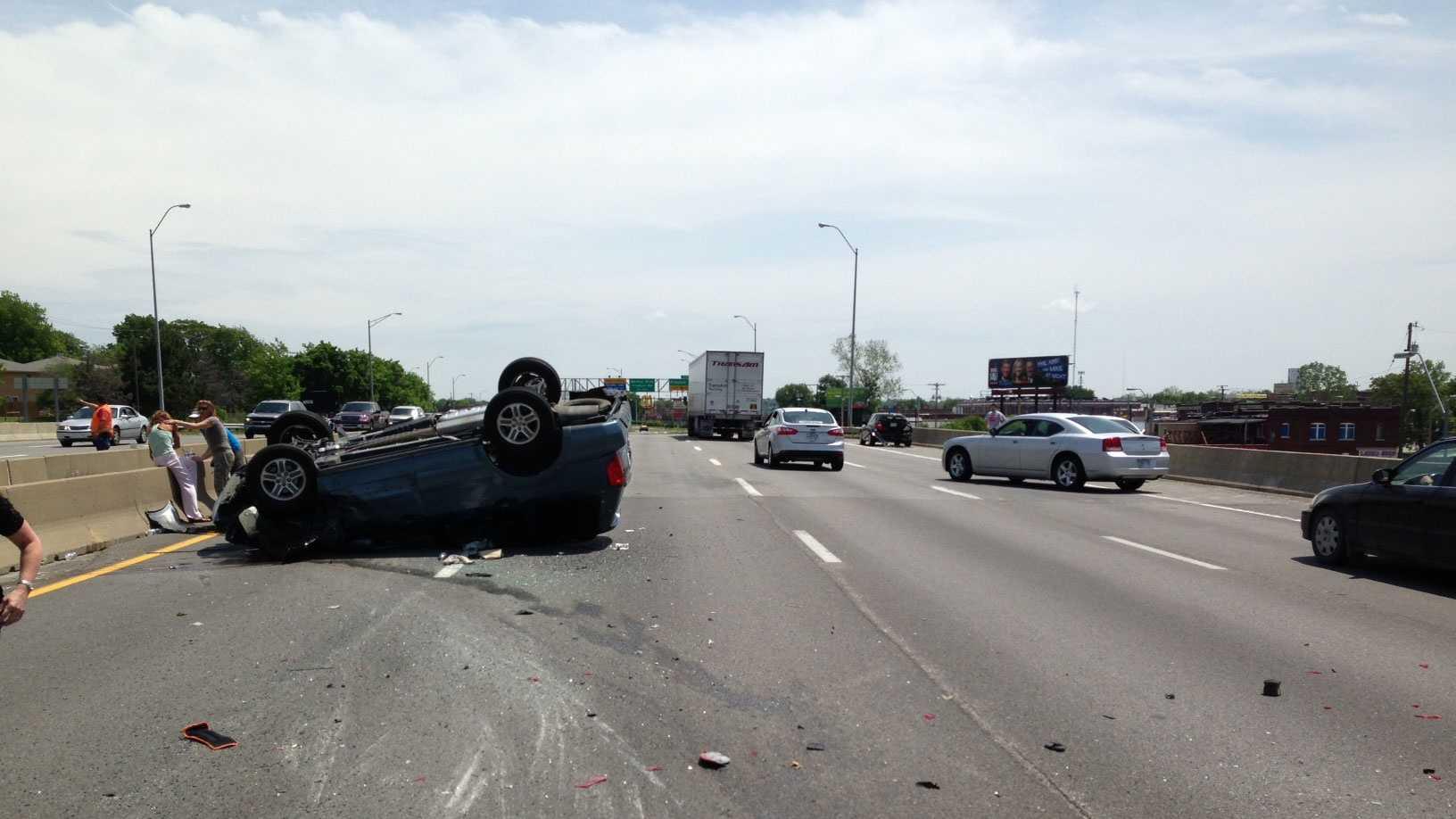 I-70, Brooklyn crash