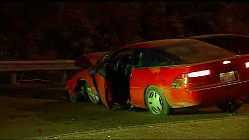 Crash on 63rd Street near I-435