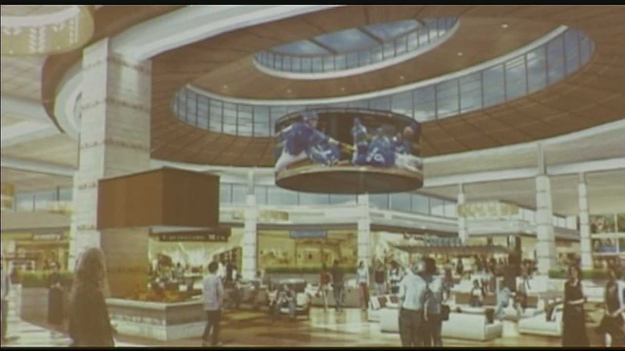 Planners are looking to raze the old Metro North Mall on Barry Road and build a new single-level mall by 2015.