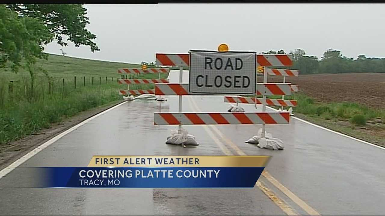 High water in rural areas has prompted some roads to close and has some experts concerned that continued rainy weather could have an impact on just-planted crops.