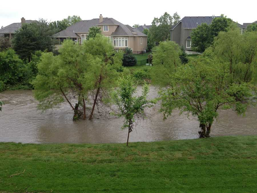 Flooding in Overland Park from Janessa Stephens
