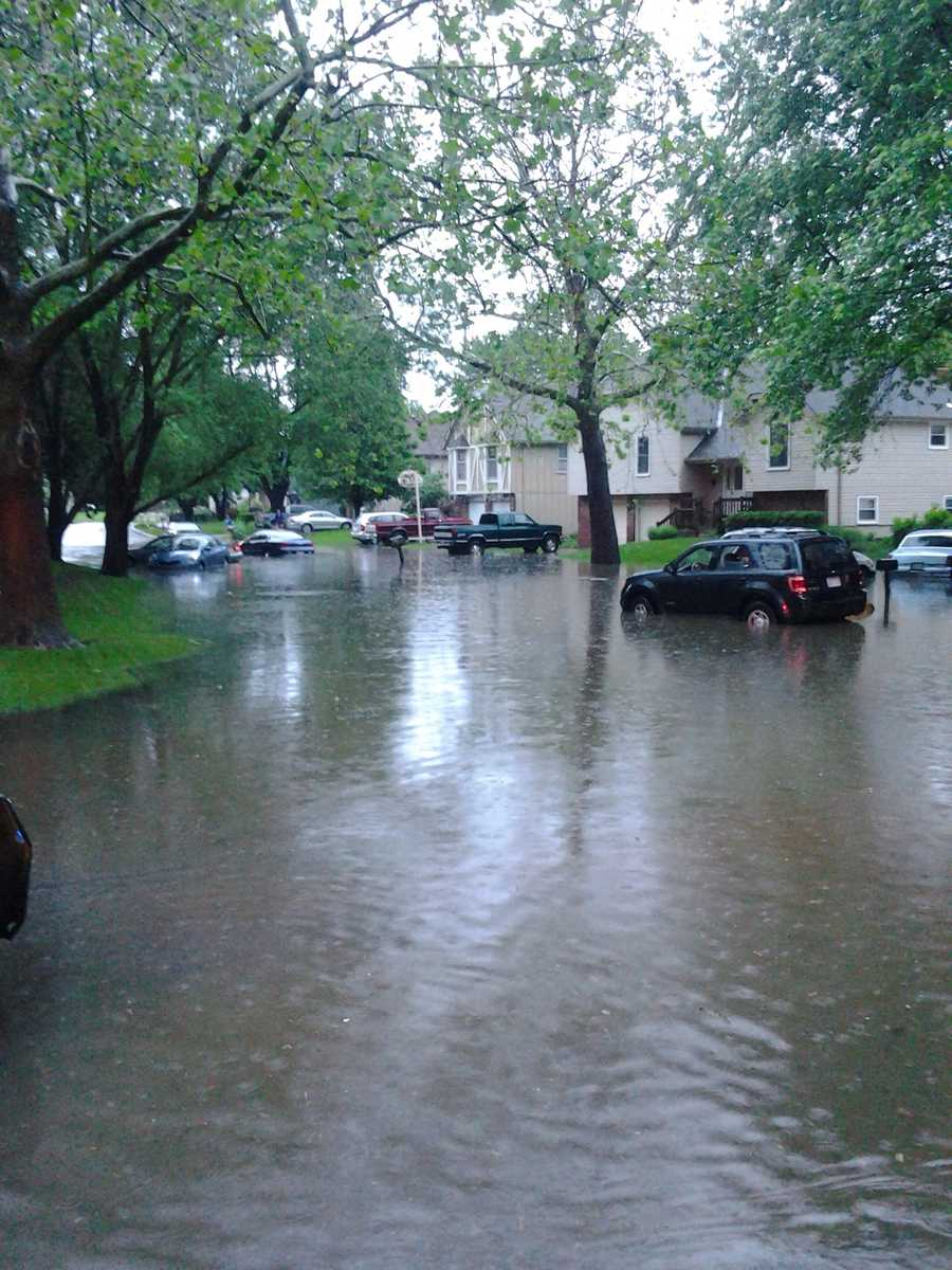 Flooding in Olathe from Kimberly Stelting