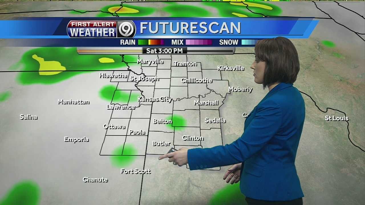 KMBC's Lisa Teachman is tracking possible storms and rising temps for the weekend.
