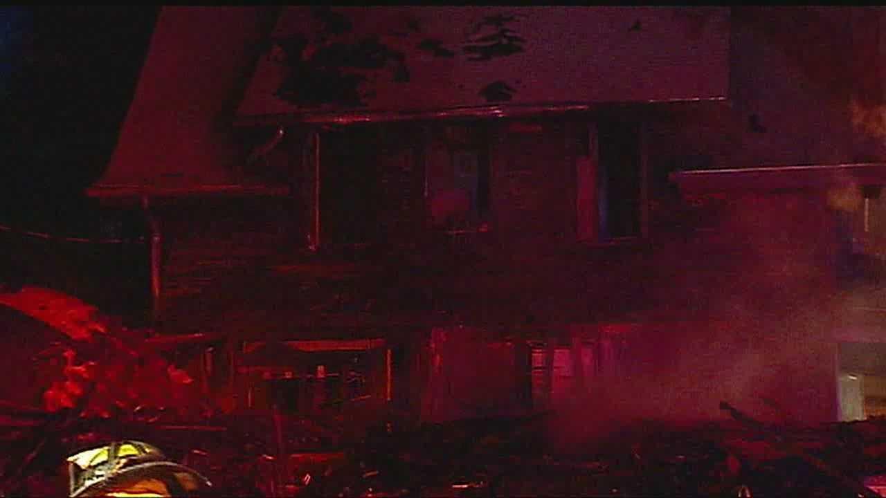 Image KC overnight fire