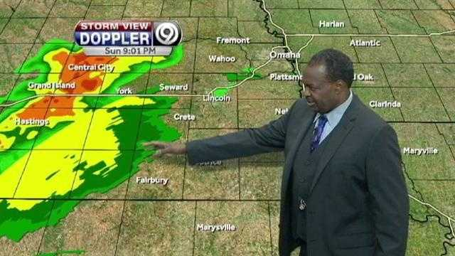 Image Nebraska storms approach