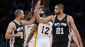 #5: 2003 San Antonio Spurs NBA Championship: Tim Duncan comes just two blocks short of the first quadruple-double in NBA Finals History.  Spurs defeat Jason Kidd's New Jersey Nets in six games.