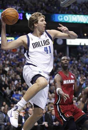 #10: 2011 Dallas Mavericks NBA Championship: Behind an unstoppable offensive assault from Dirk Nowitzki, the Dallas Mavericks win their first-ever NBA Championship over LeBron James during his first year with the Miami Heat.