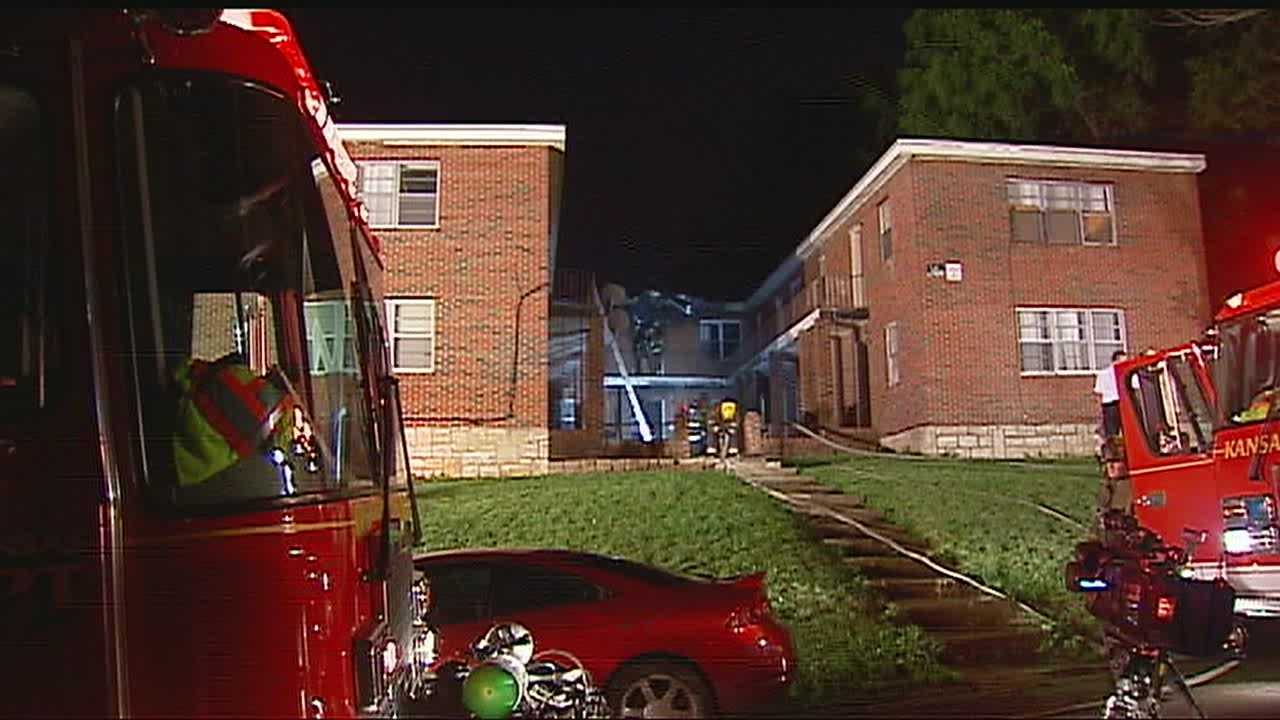 KCK apartment fire, 16th, Everett