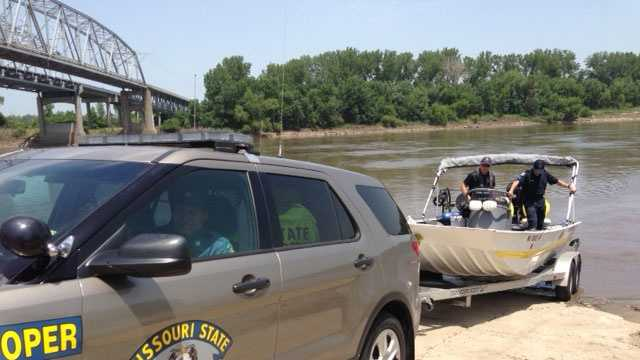 Drowning search near Sugar Creek