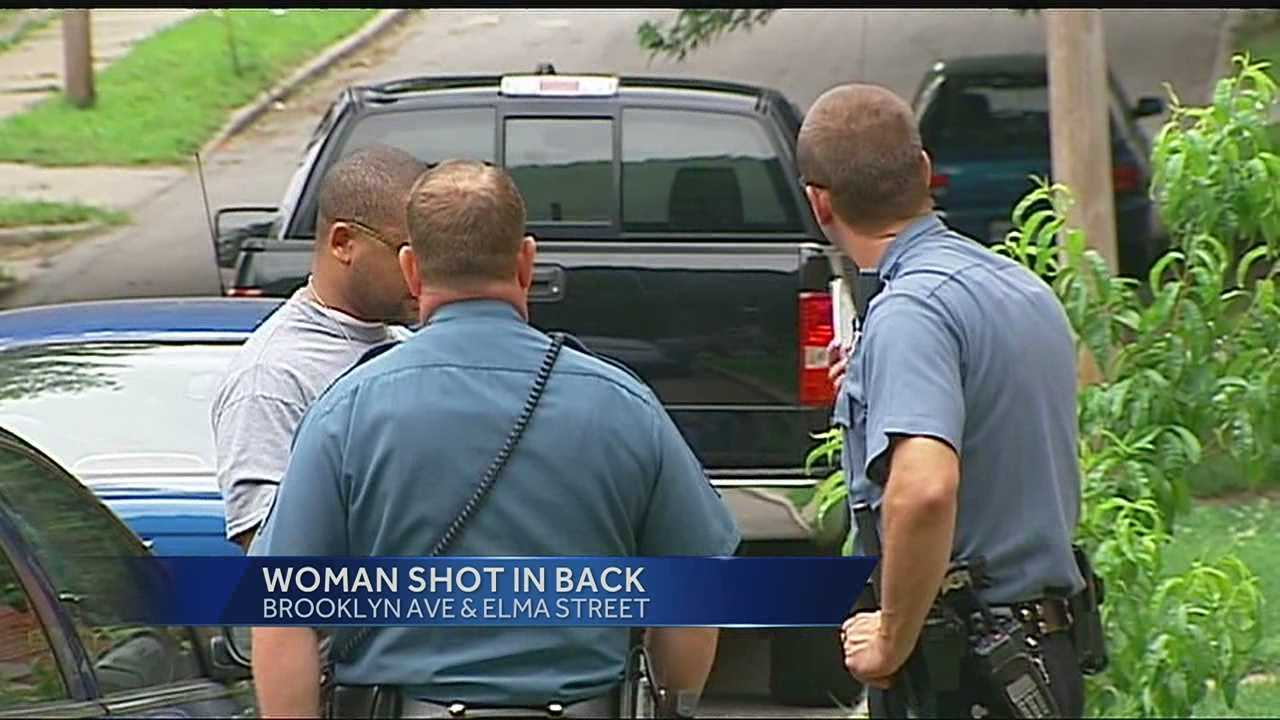Image Drive-by shooting, woman injured