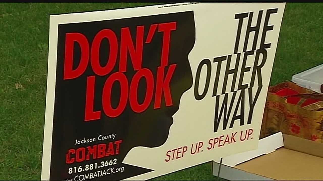 Some of the resources from Jackson County's anti-drug tax COMBAT is being used in crime prevention efforts, and people hit Kansas City neighborhoods to encourage more people to join the fight.