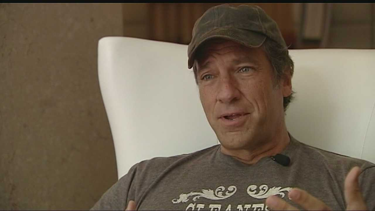 "Mike Rowe, the longtime star of Discovery's ""Dirty Jobs"" visits Kansas City to speak to Skills USA members about the importance of vocational training."