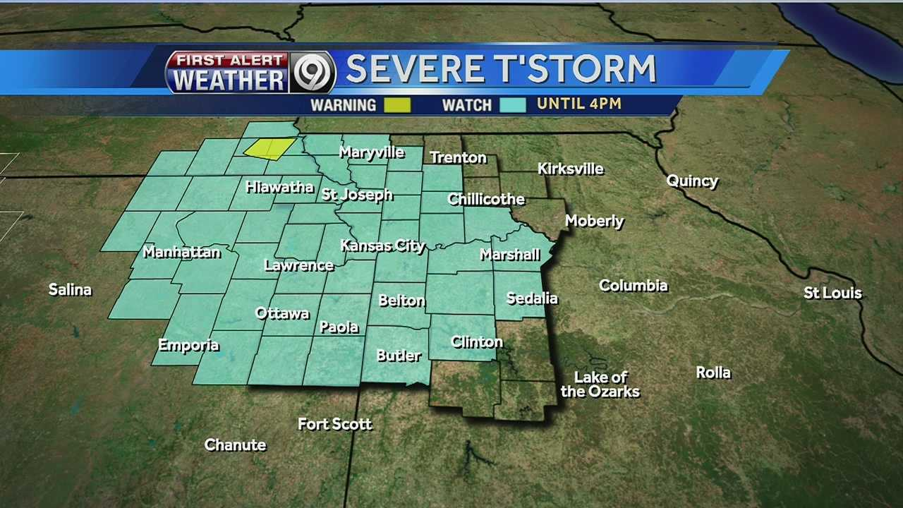 T-storm watch area
