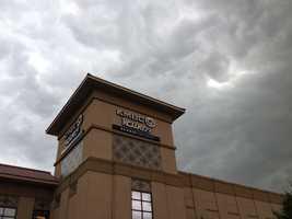 Outside the KMBC 9 News studios.