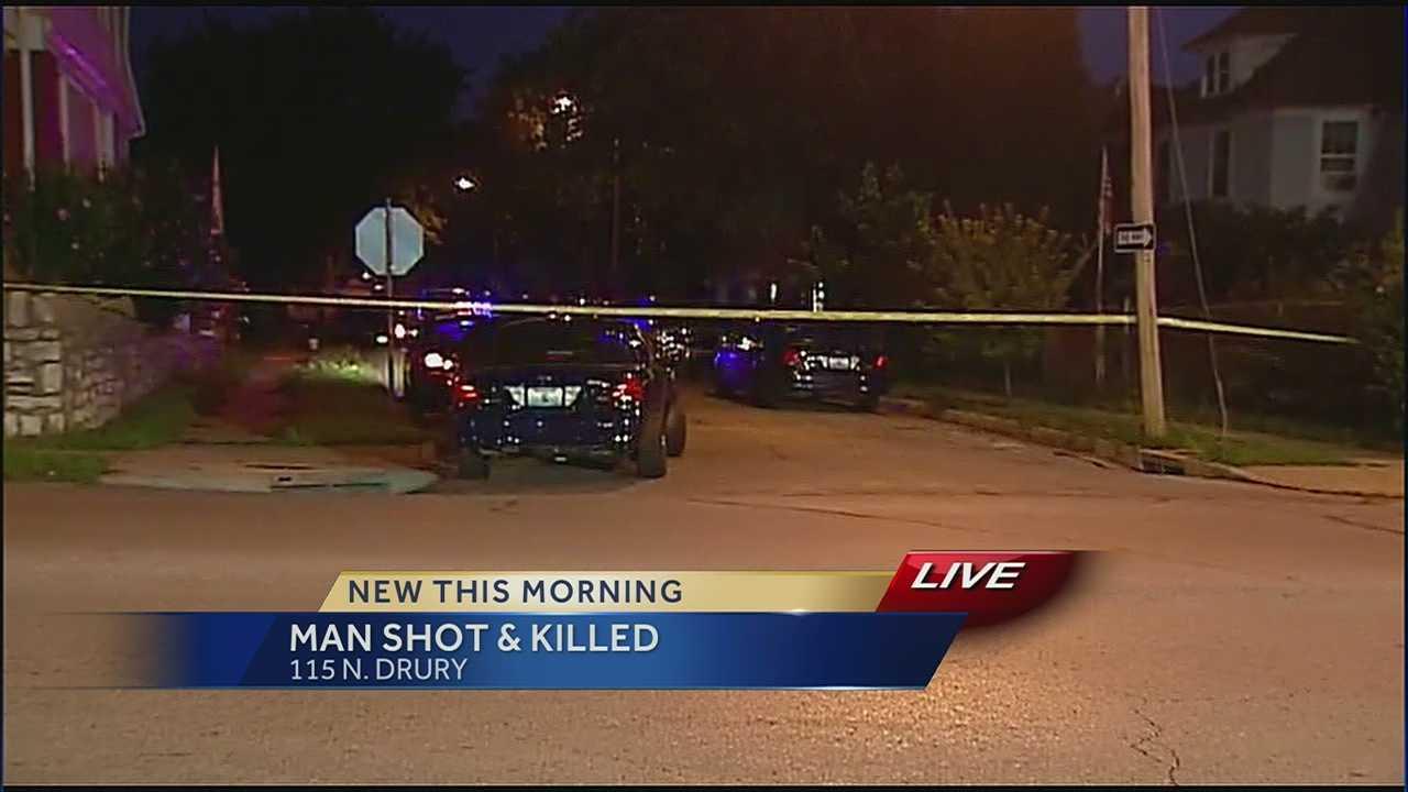 Victim dies from gunshot wound on family's doorstep
