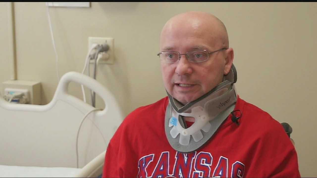 Image Kevin Glenn - injured in fall