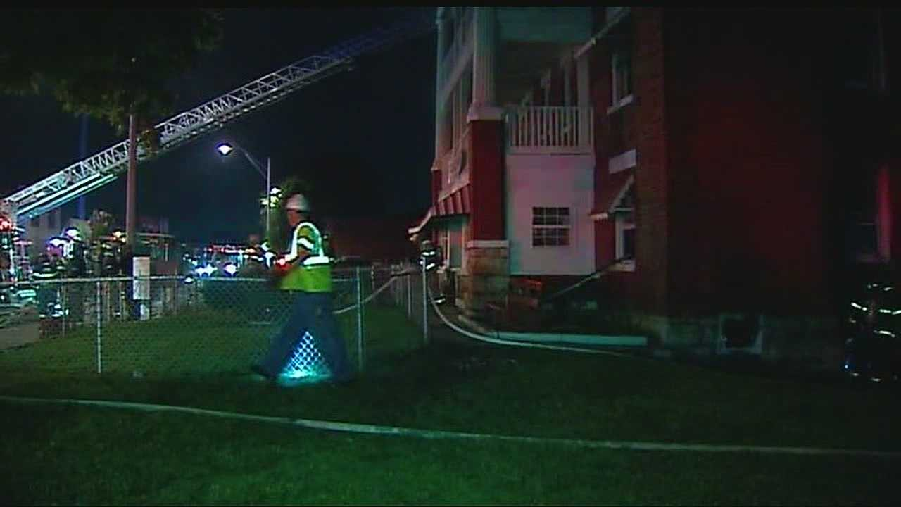 36th, Troost apartment fire