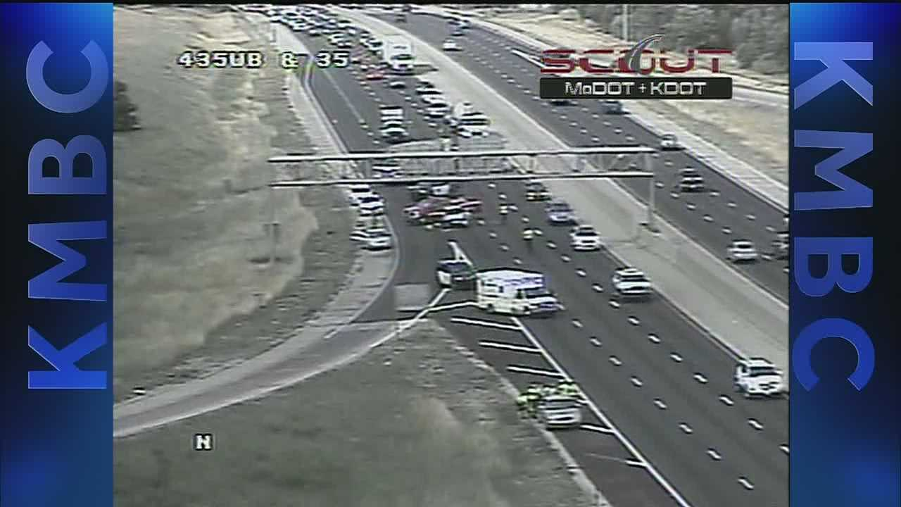 Accident on I-35 south