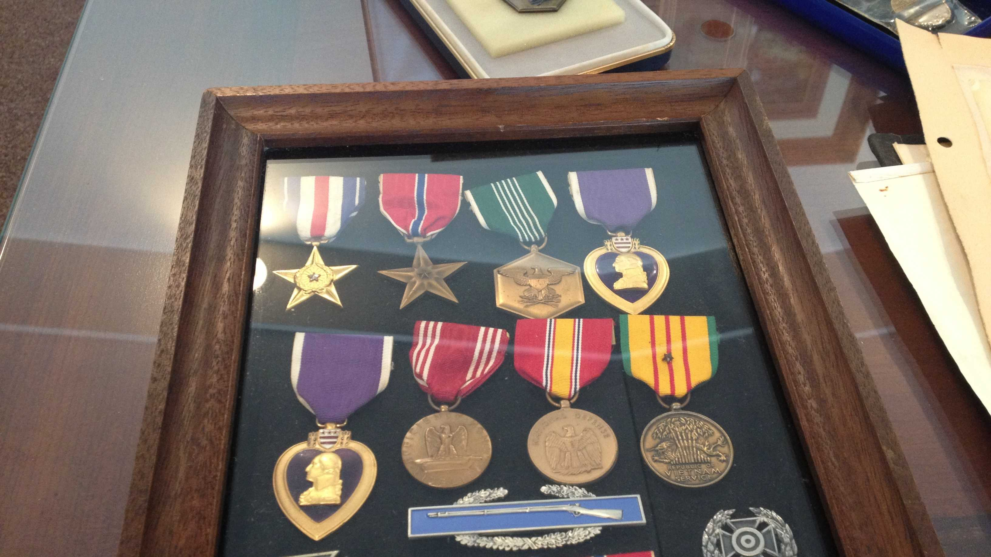 Medals returned to family