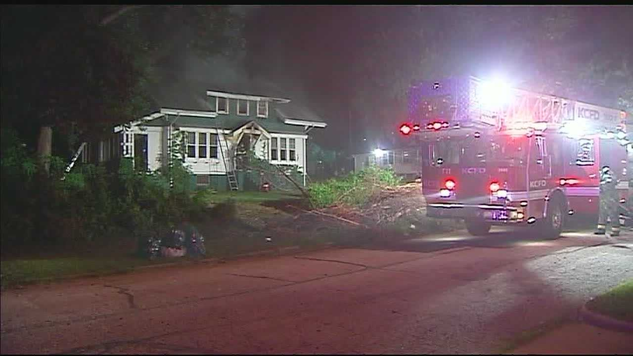 House fire 2200 block of