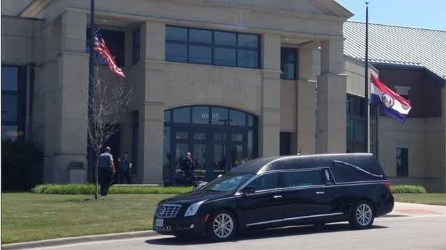 Image Michael Chou funeral