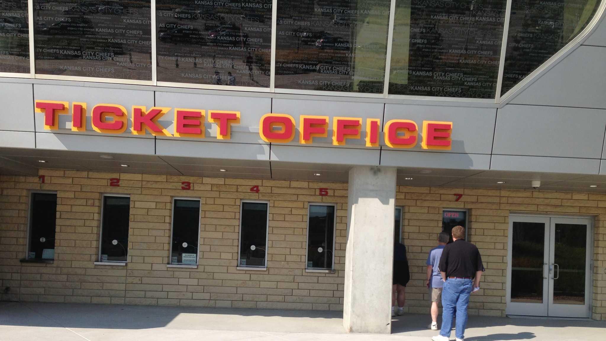 Chiefs Tickets on sale at Arrowhead Stadium