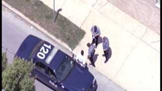 Police pursuit, man in custody