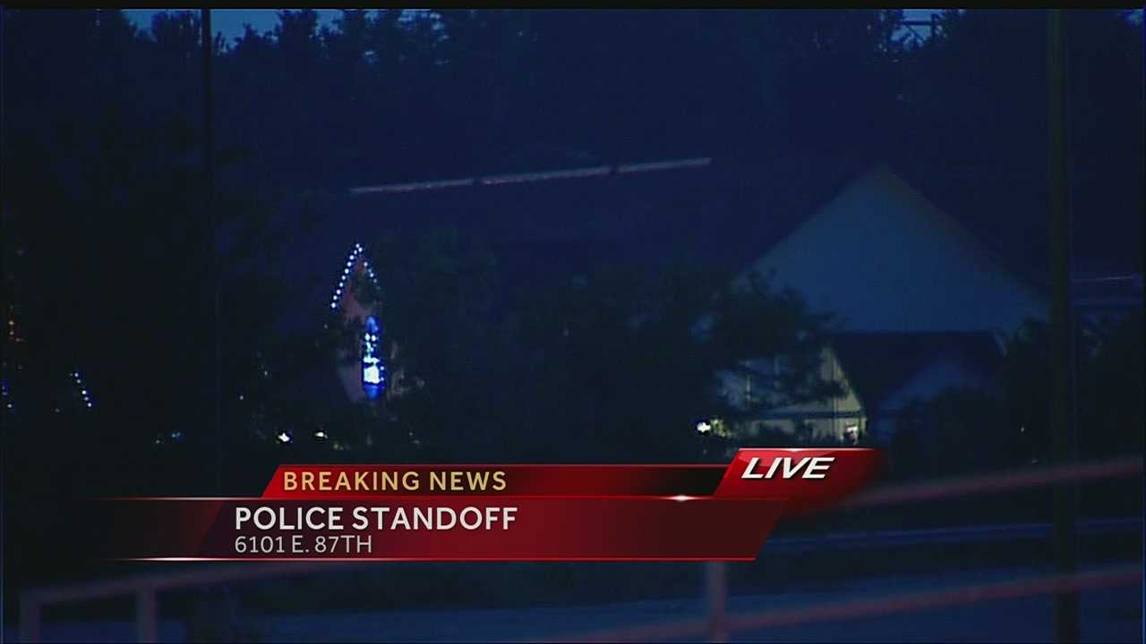Standoff at motel on 87th Street