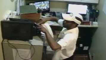 Police are looking for a man who robbed the Huddle House restaurant near 39th Street and Broadway Blvd. on July 10.