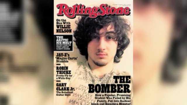 Rolling Stone, Boston bomber
