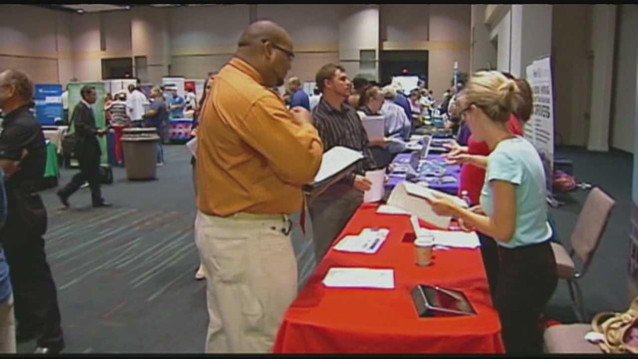 Image Overland Park job fair