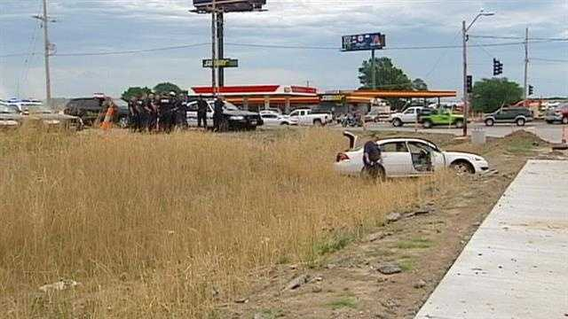 Slow speed chase ends in Grain Valley