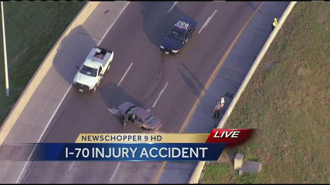 I-70 crash at the Jackson Curve