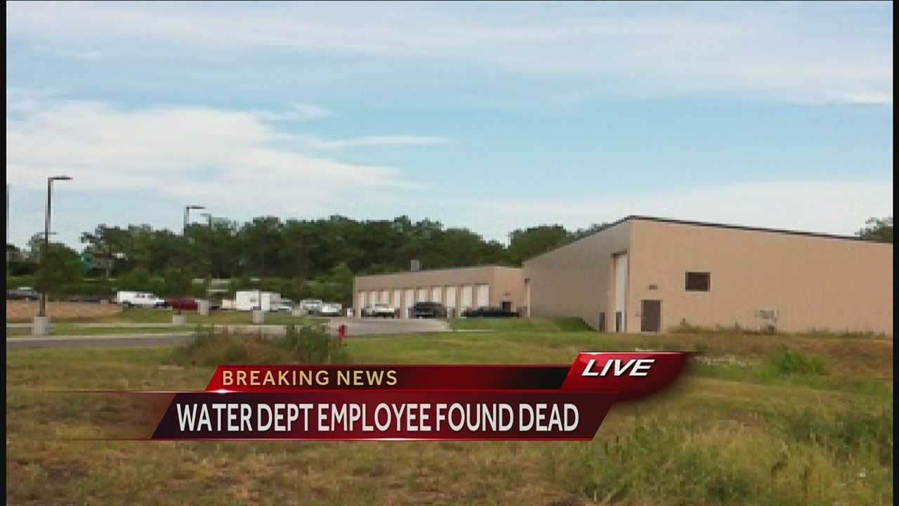 Image Water Department employee found dead