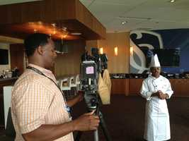 Executive Chef Wade Taylor describes the full lineup of signature food items available at Sporting Park for the 2013 At&T MLS All-Star Game.