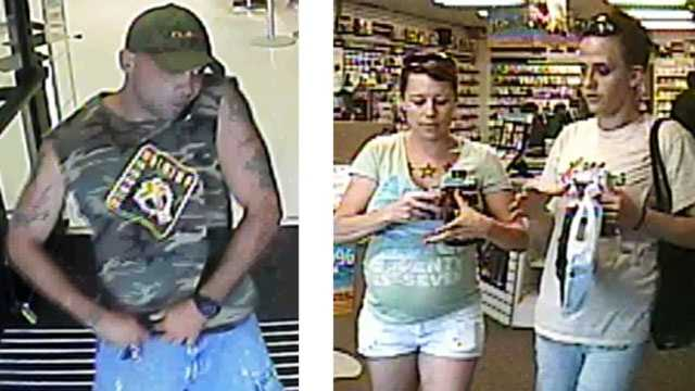 Image Surveillance - stolen credit cards - Independence