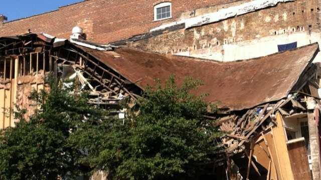 Lexington building collapse