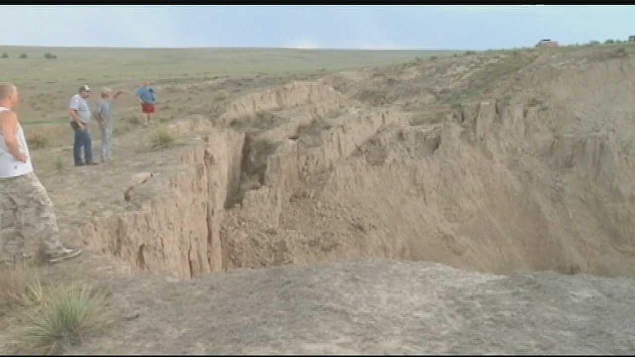 Image Kansas sinkhole