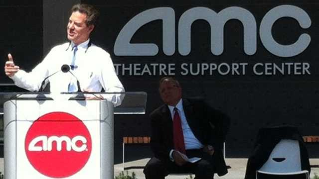 Kansas Gov. Sam Brownback was among the dignitaries attending Tuesday's opening.