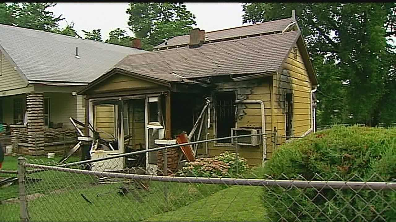 Two days after the arrest of a 15-year-old Kansas City, Kan., boy on suspicion of murder, the home where the boy lived was the scene of a suspicious fire.