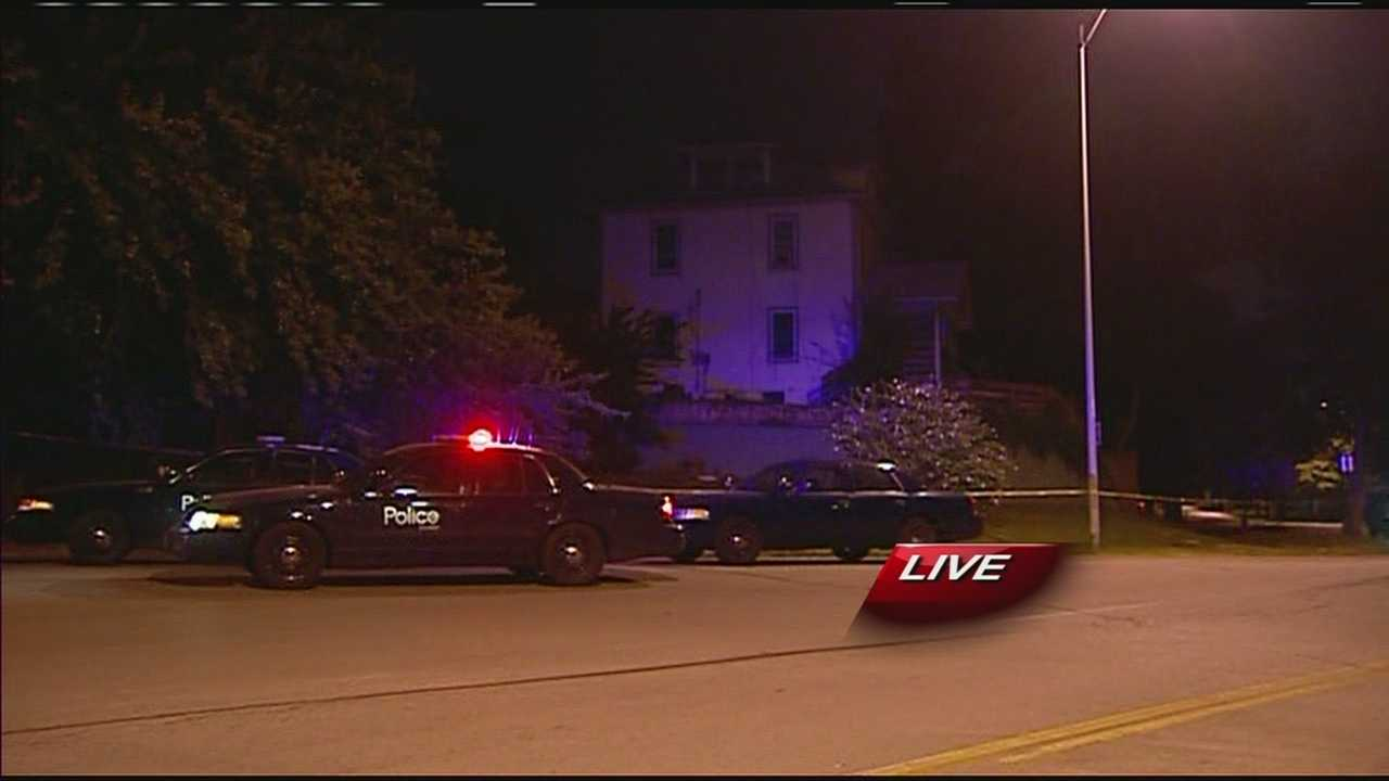 Image Belmont homicide scene