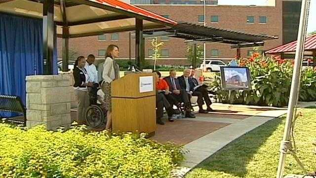 Children's Mercy Hospital, Hall family pledge