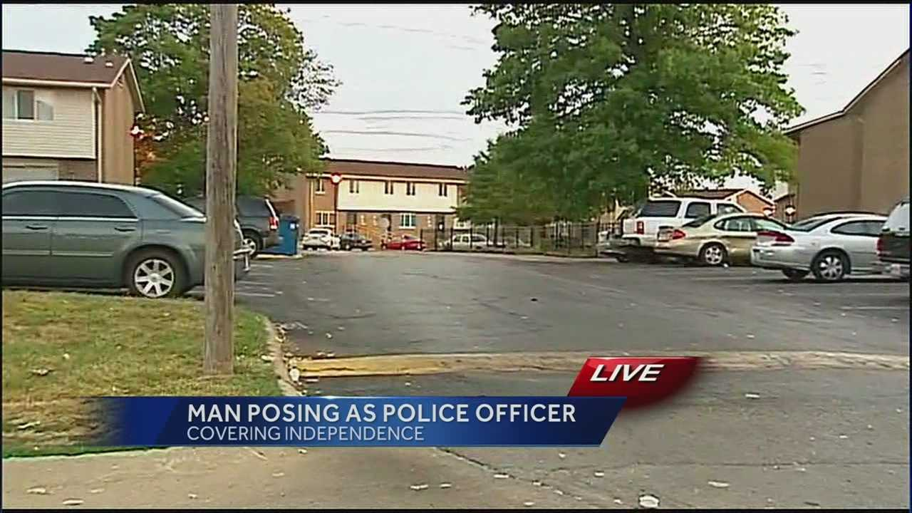Man posing as police officer, Fort Osage