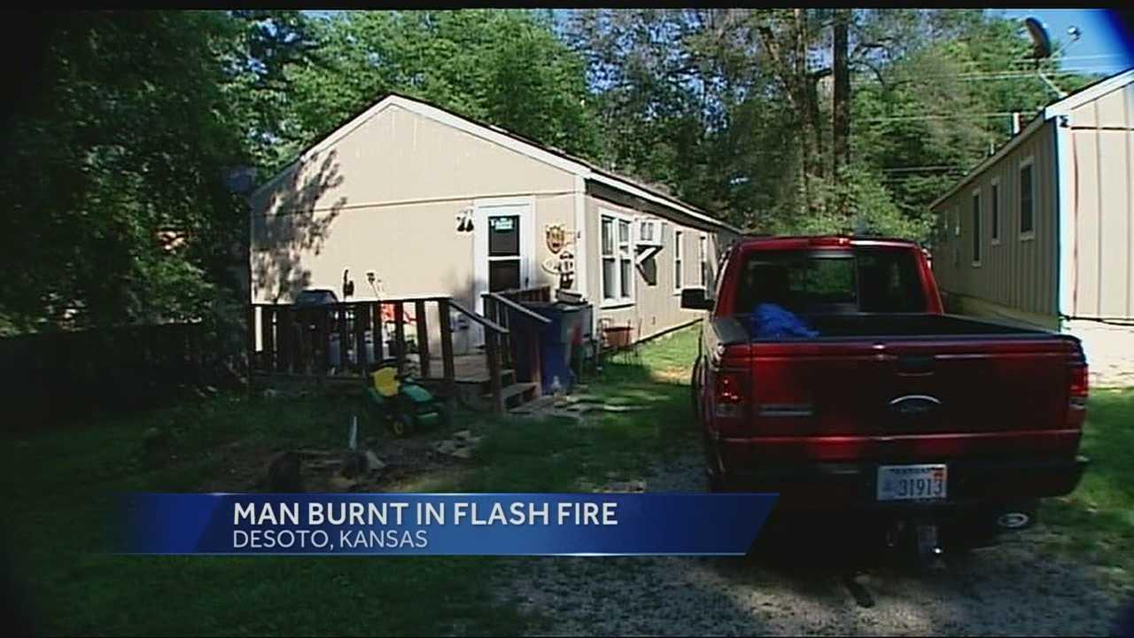 Image House where De Soto flash fire happened