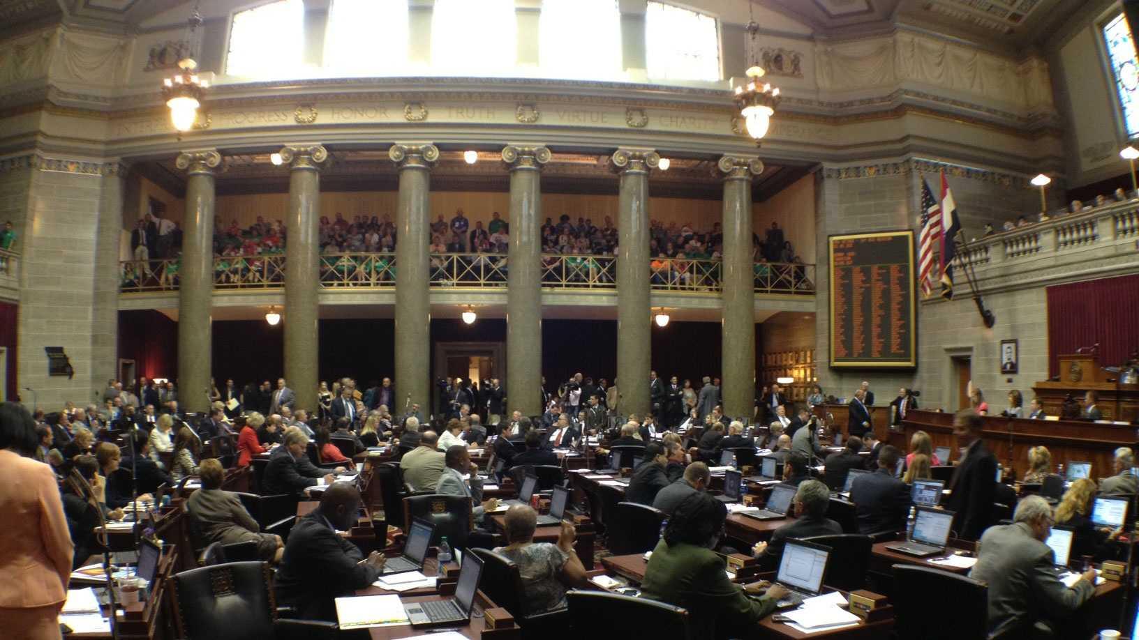 Mo. Legislature veto session