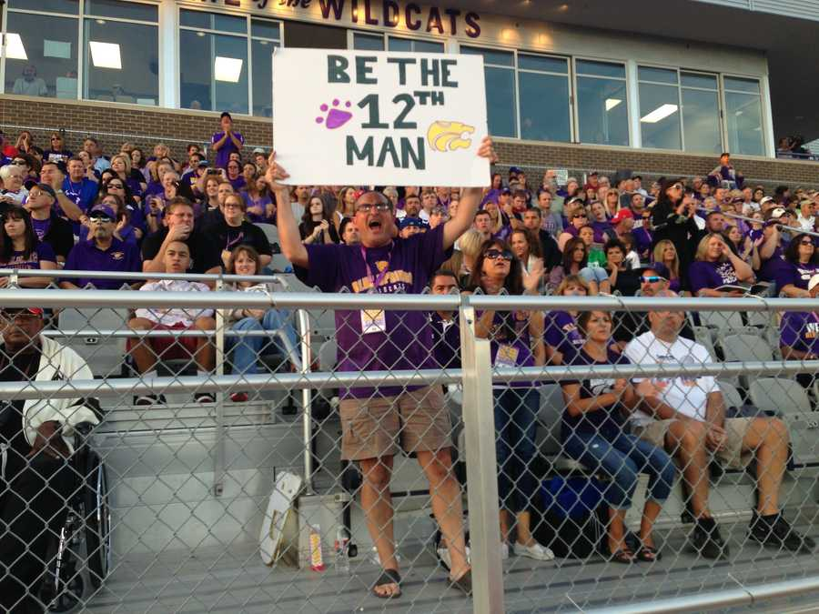 You voted for this as the game of the week on kmbc.com. In fact, that's probably you in the crowd (and you, and you, and you)!
