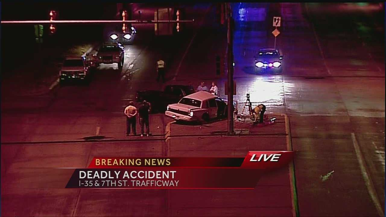 Seventh Street, I-35 fatal crash